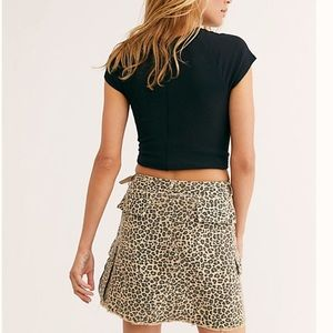 Free People Skirts - 🆕 NWT/Still Avail Free People Leopard Skirt
